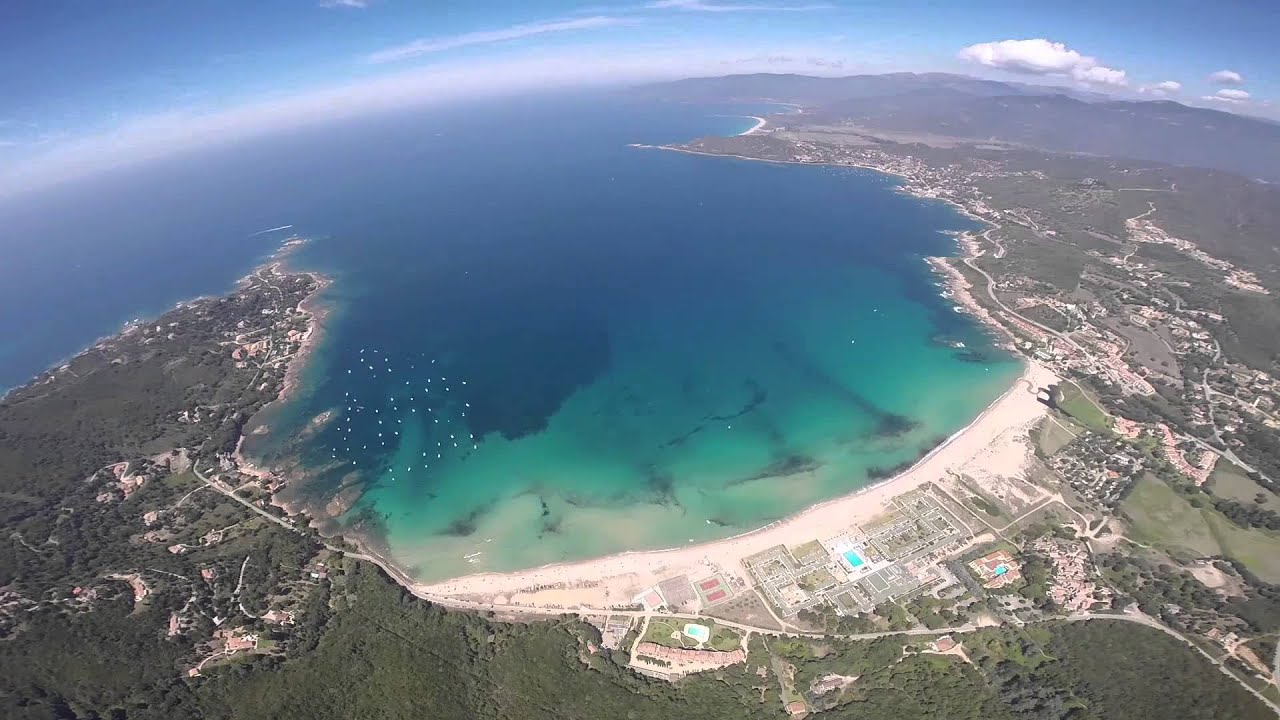 Parapente en corse de la montagne la mer youtube - Office du tourisme porto corse ...