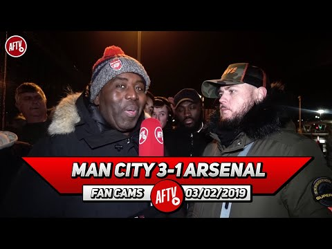 Man City 3-1 Arsenal | Not In A Million Years Would Iwobi Get Into Pep Guardiola's Team! (DT)