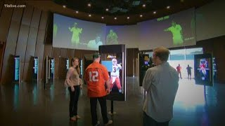 A Tour Inside Of The College Football Hall Of Fame