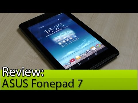 Prova em vídeo: ASUS Fonepad 7 | Tudocelular.com