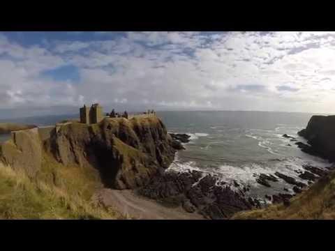 Castle hike in Scotland