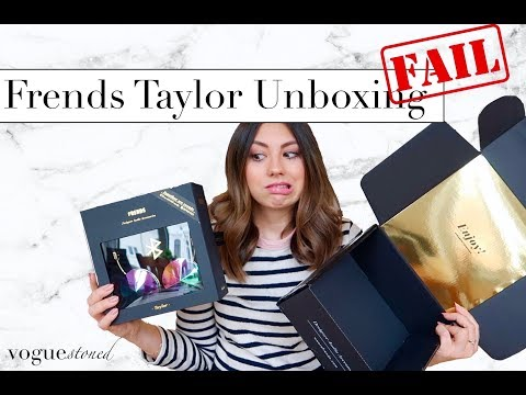 New 2018 Frends Taylor Wireless Headphones ∣∣ Unboxing GONE WRONG + First Impression/Review