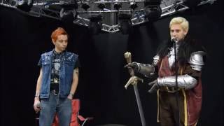 Prop Weapons Talk --- Wycombe Comic Con --- Punx Dead Cosplay & Ardent Cosplay