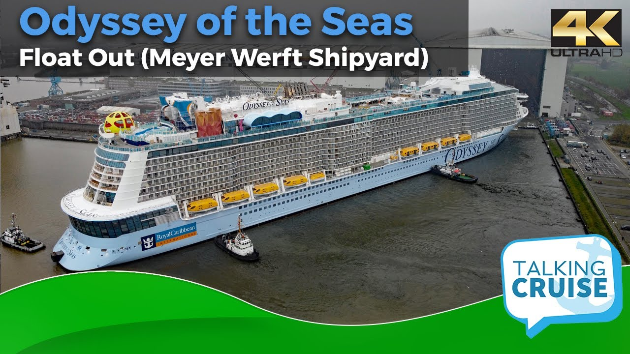 Odyssey of the Seas (Float Out Meyer Weft Shipyard)