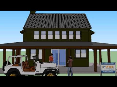 Aztec Solar Professional 3D Home Design