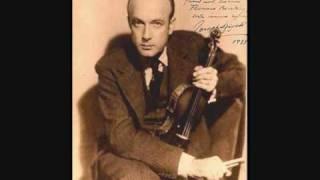 Josef Szigeti, Béla Bartok: Rhapsody n°1