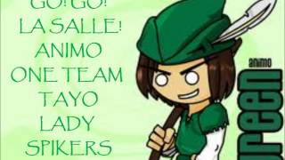 The Lady Spikers Song -- Lyric Video