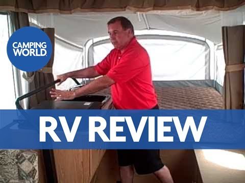 Tour of the Coleman Utah Popup Camper Jim Snyder - RV Review