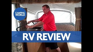 Tour of the Coleman Utah Pop-up Camper by American RV's Jim Snyder
