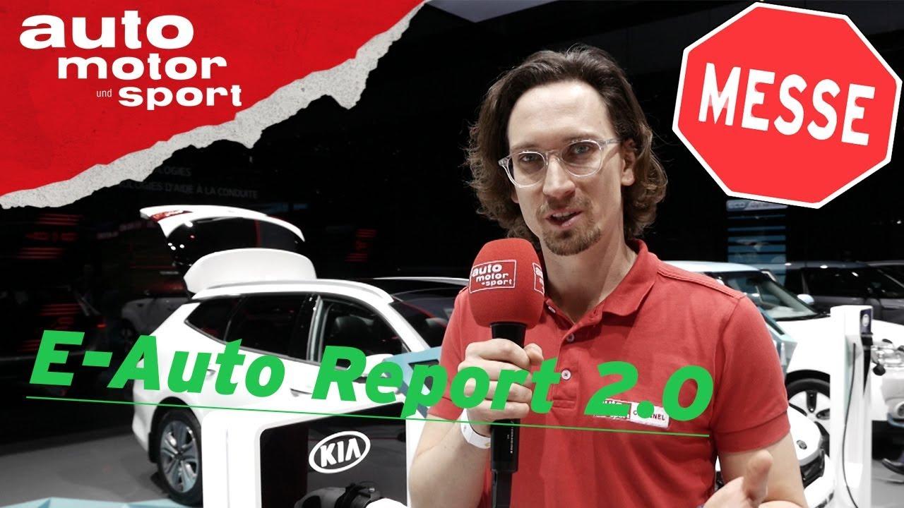 Der große E-Auto Report 2.0 - Zukunft der Asiaten - Genf 2018 | auto motor und sport