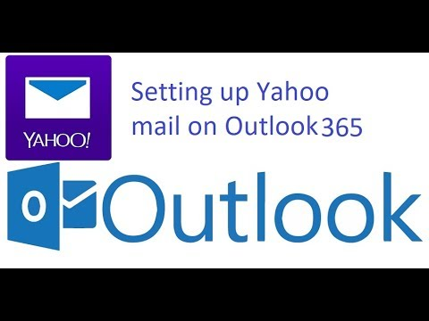 Setting up yahoo mail on outlook or outlook 9