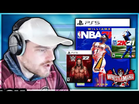 DBG Talks About 2k, The Other Games They Make Ouside of NBA 2k21 MyTEAM & Wrestlemania! |