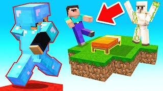 Can we WIN with an IRON GOLEM? (Minecraft Bed Wars)
