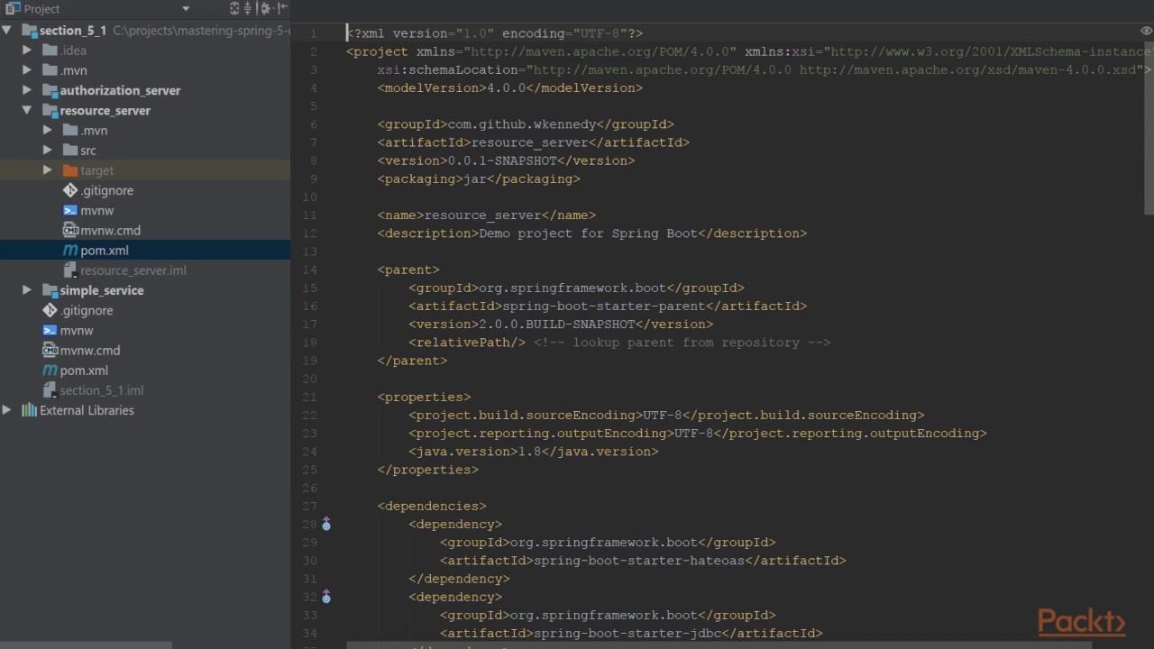 Essentials of Spring 5 0 for Developers : OAuth2 | packtpub com