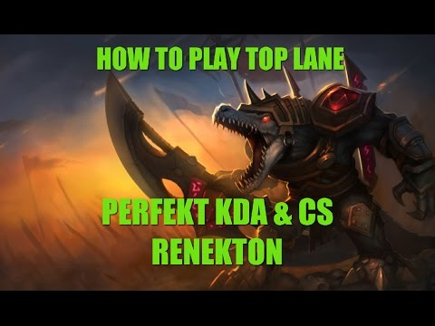 lol perfekt kda cs renekton top lane live. Black Bedroom Furniture Sets. Home Design Ideas