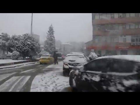 DEVREK YOĞUN KAR YAĞIŞI (Cumhuriyet Meydanı)