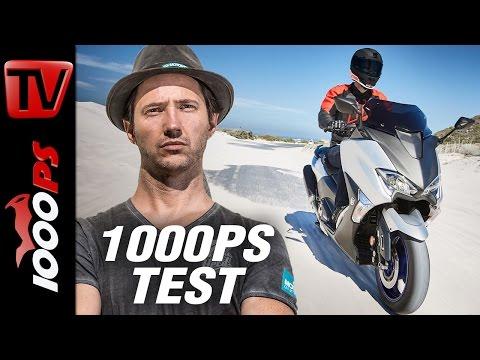 1000PS Test - Yamaha TMAX 2017 - Der schnellste Roller!