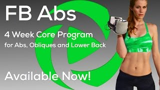 Brand New: 4 Week Core Program for Abs, Obliques and Lower Back Now Available