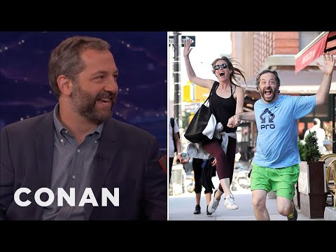 How Judd Apatow Handles Paparazzi   CONAN on TBS