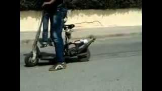 trotinette 50 cc TURBO MONSTER essence  badrracing