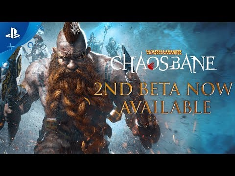 Warhammer: Chaosbane – 2nd Beta Launch Trailer   PS4