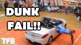 How to NOT Dunk over a CAR! DUNK FAIL!!! #SCNotTop10