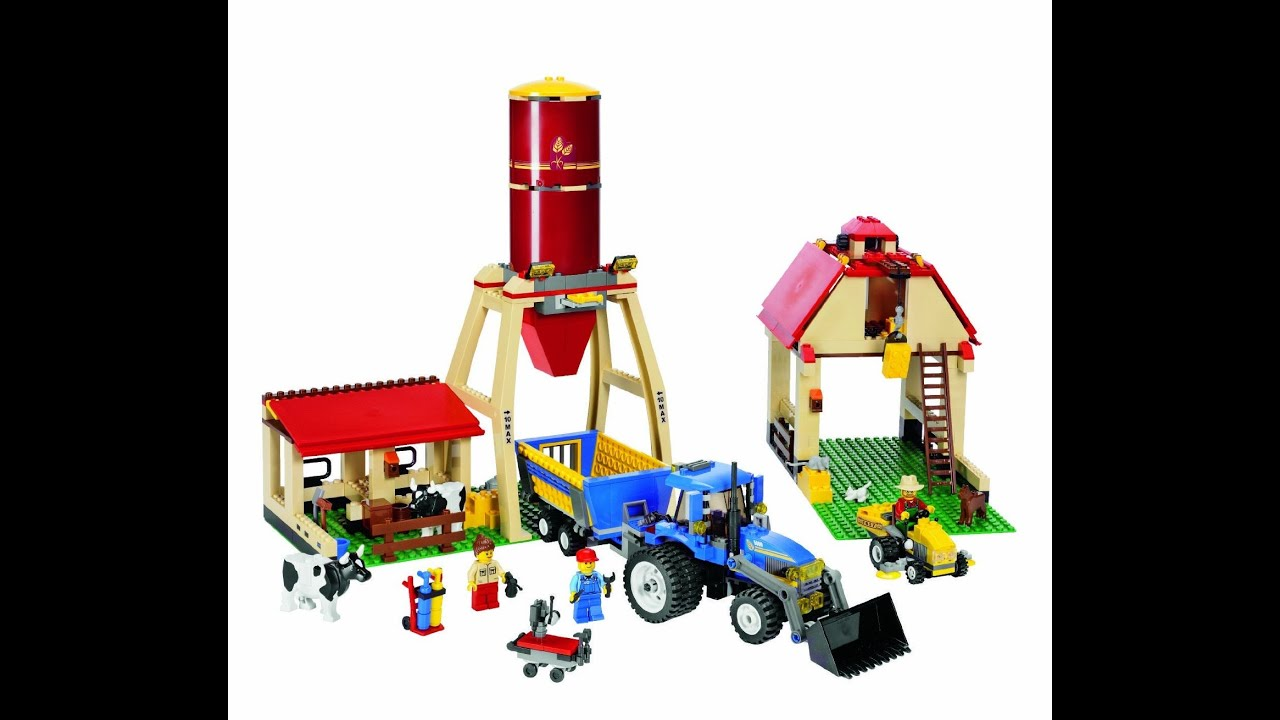 lego city granja lego juguetes para ni os youtube. Black Bedroom Furniture Sets. Home Design Ideas