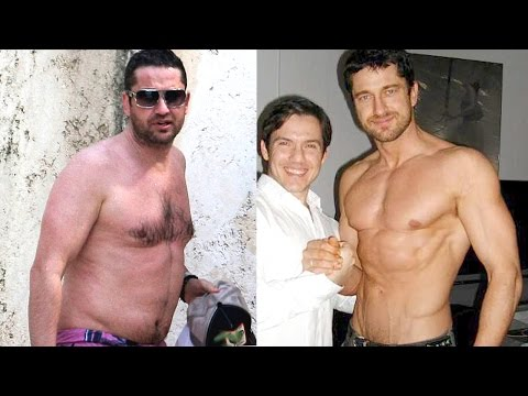 Gerard Butler ★ Training And Body Transformation
