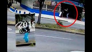 En video quedó registrado ataque sicarial al interior de establecimiento comercial en el sur de Cali