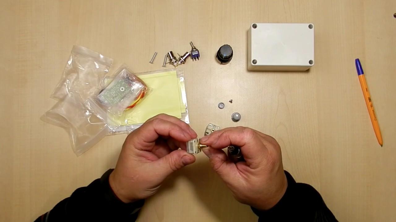 Распаковка посылки с Али Экспресс. КВ тюнер для QRP трансивера.