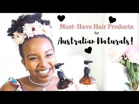Hair Regimen Update: MUST-HAVE Products For Australian Naturals!!!