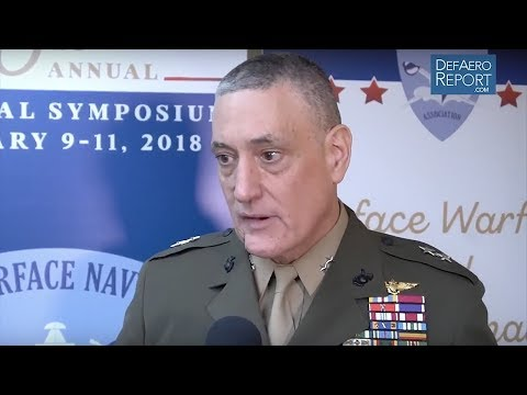 US Navy's Coffman on USS America Deployment, F-35, Force Planning in the Pacific