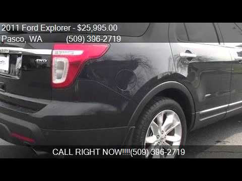 2011 ford explorer limited awd 4dr suv for sale in pasco wa youtube. Black Bedroom Furniture Sets. Home Design Ideas