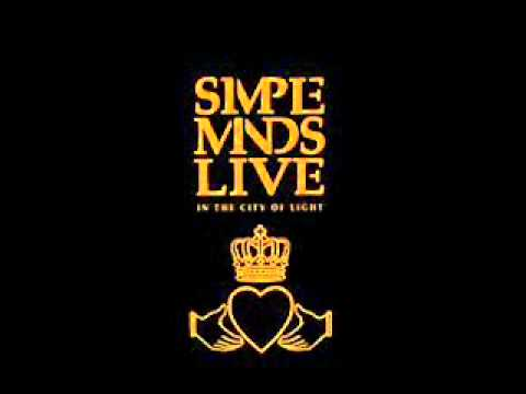 Simple Minds - Promised You A Miracle( Live In The City Of Light)