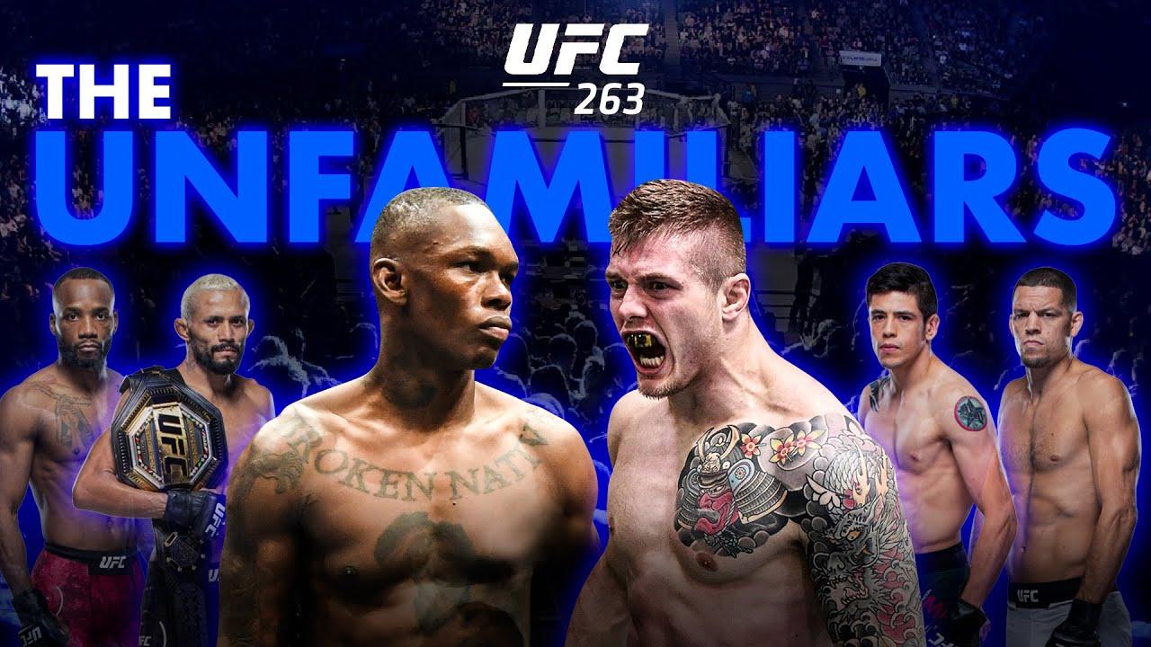 UFC 263 - Adesanya vs. Vettori 2 Detailed Undercard & Main Card Breakdown - The Unfamiliars