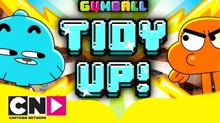 The Amazing World of Gumball | Tidy Up Playthrough | Cartoon Network