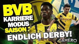 ENDLICH DAS DERBY GEGEN FC SCHALKE 04! ♕ FIFA 17 KARRIEREMODUS BVB DEUTSCH S3 #26