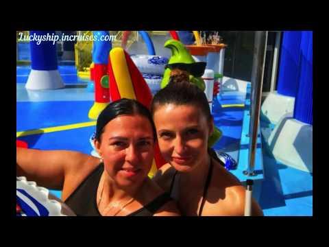 CARNIVAL HORIZON (круиз 15.04-22.04.2018 из Барселоны), аквапарк Water Works
