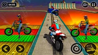 Impossible Motor Bike Tracks 3D Game Complete All Motor Bike Unlocked & All Levels Android GamePlay