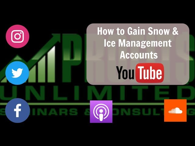 How to Gain Snow and Ice Management Accounts