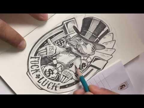 Monopoly Hustle guy by OGABEL