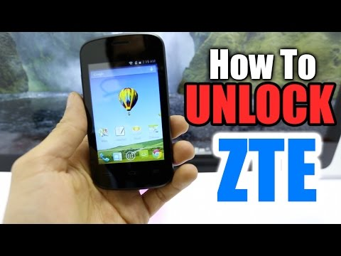 How To Unlock ZTE / All models Z667 / Compel / Avail / Z667 / Radiant / Z998 / AT&T / etc.