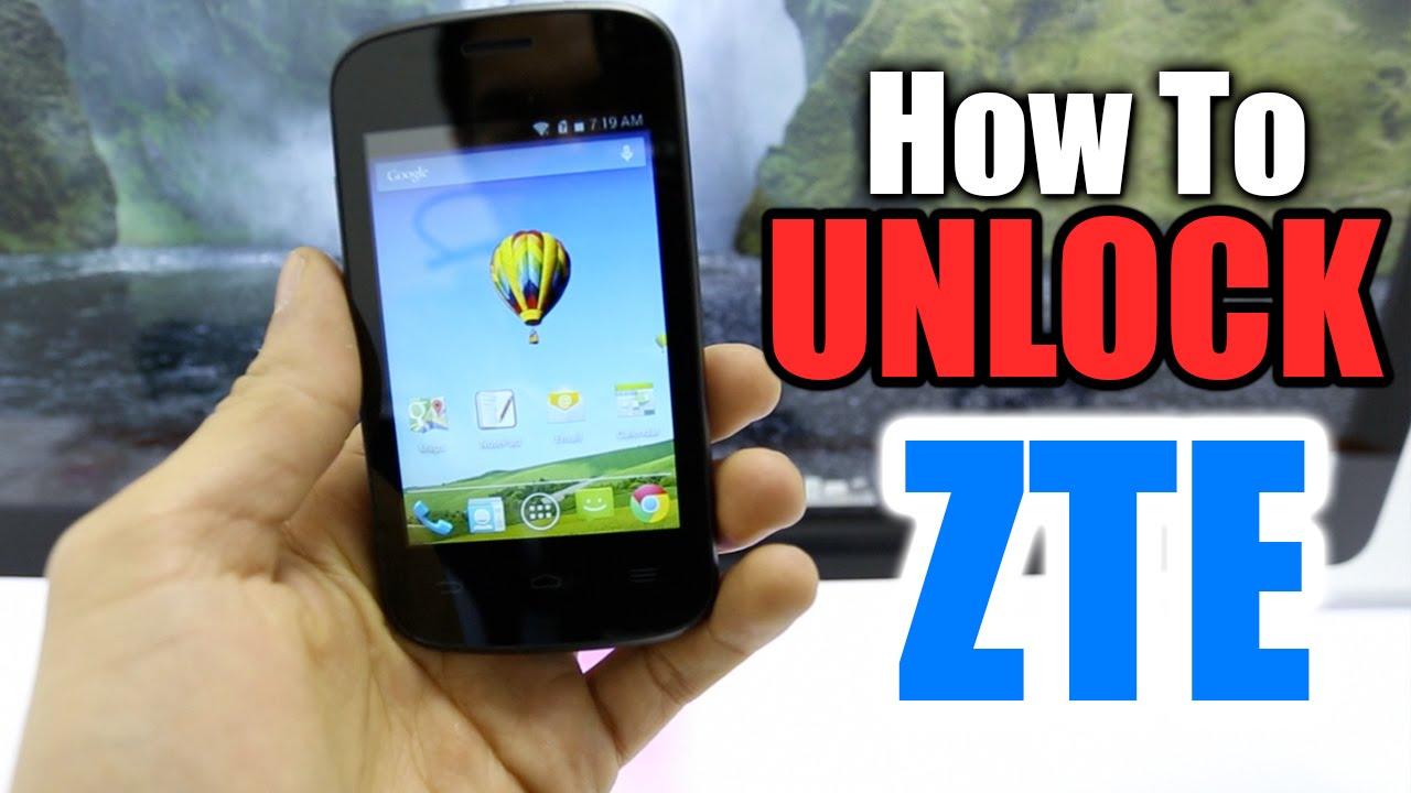 How To Unlock ZTE  All models Z667  Compel  Avail  Z667  Radiant  Z998  ATT  etc  YouTube