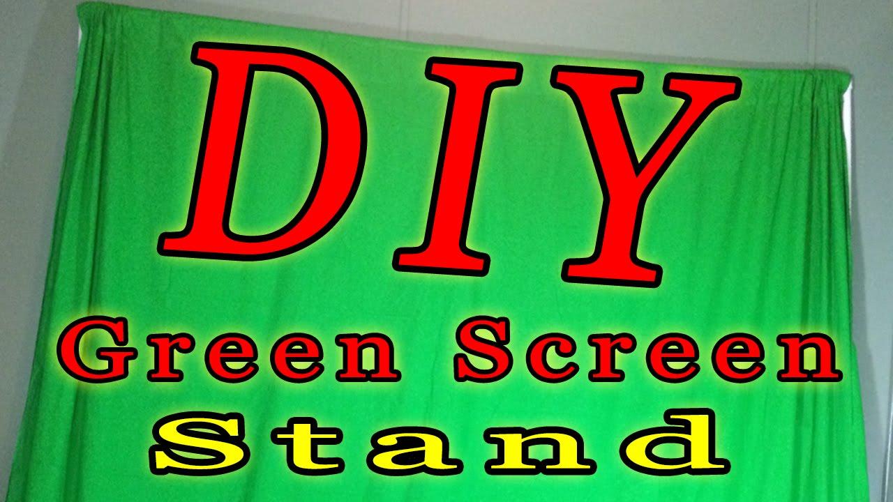 DIY Green Screen Stand