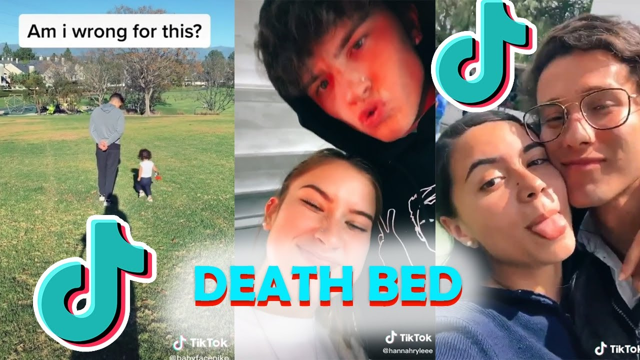DEATH BED TikTok - Powfu | TIKTOK Video Compilation |