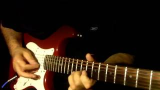 Chalay thay saath mil ker...Guitar Instrumental...Please use headphones for better sound...{:-)