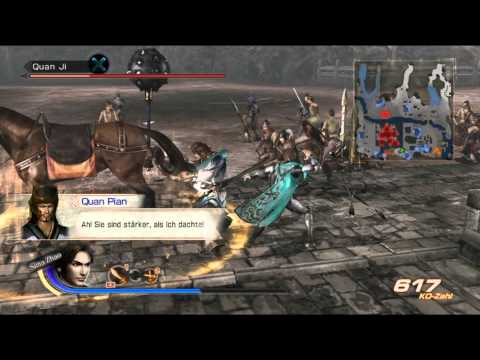 Let's Play Dynasty Warriors 7 [German] part 60 Zhuge Dan in vier Wänden...