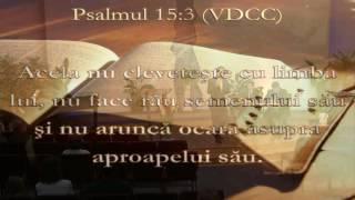 Psalmul 15 (II) - Pastor Valentin Dănăiață