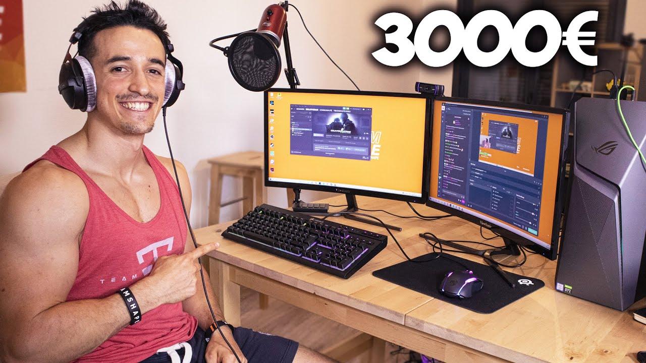 Mon setup gaming incroyable !! (3000€)
