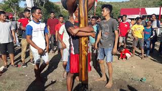 PANJAT PINANG tercepat pemuda Perumnas Ujong Batee